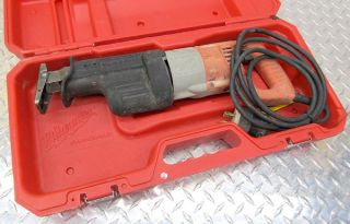 Milwaukee Sawzall Heavy Duty Reciprocating Saw Case 6509 22