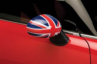 UK Flag Vinyl Stickers for Mini Cooper Side Mirrors Left Right