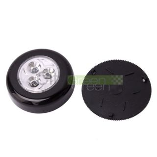 New Mini Cordless 3 LED Light Stick Tap Touch Light Battery