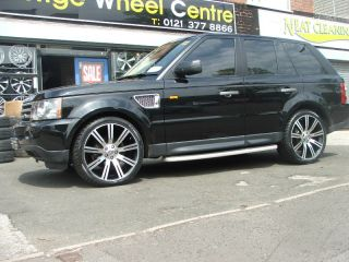 20 Range Rover HSE Sport HSE Supercharged Rims Wheels