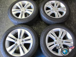 Four 2013 Acura ILX Factory 16 Wheels Tires Rims RSX Accord Prelude