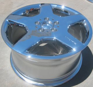 18 Factory Mercedes CL500 S600 AMG Chrome Wheel Rim 1