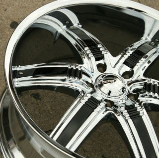 Chrome Rims Wheels Dodge RAM 1500 2WD 4WD 94 10 22 x 9 5 5H 1