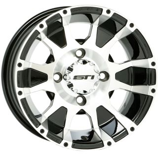 STI C7 Rims 12 Wheel Kit Polaris Sportsman Ranger RZR Wheels