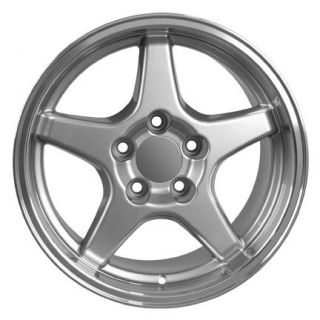 17 Silver ZR1 Style Wheel 17 x 11 Rim Fits Corvette