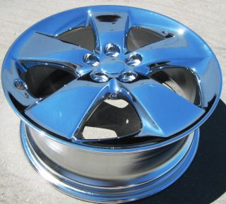 Stock 4 New 17 Factory Toyota Prius Chrome Wheels Rims 2010 12