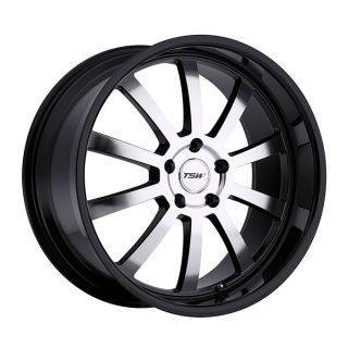 17 TSW Willow Black Rims Wheels RX6 RX7 Mazda3 5x114 3