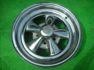 15 x 6 Cragar SS s s Chrome 5 Spoke Classic Wheel Rim