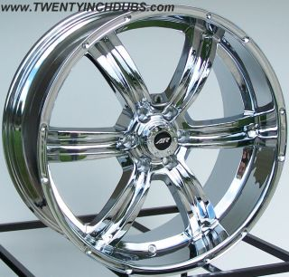 17 American Racing Trench Wheels Rim 6x5 5 12mm