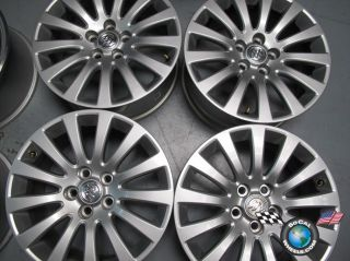 Four 2011 Buick Regal Factory 18 Wheels Rims 4100 9598126