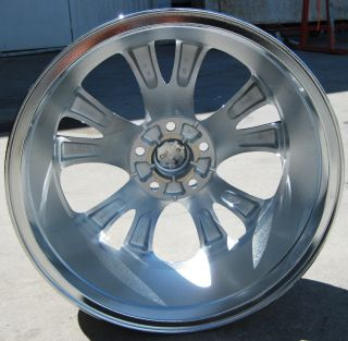18 FACTORY FORD TAURUS CHROME WHEELS RIMS 2010 11 EXCHANGE YOUR STOCK