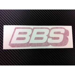 BBs Rim Racing Decal Sticker New Red