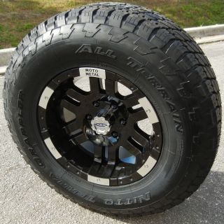 17 Motometal 951 Wheels Rim Nitto Terra Grappler Tundra Tacoma Sierra