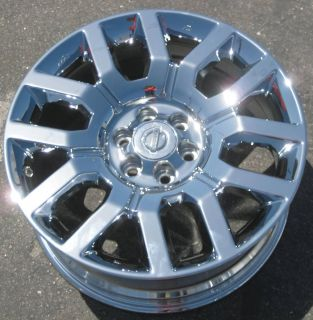 New 18 Nissan Frontier Pathfinder Chrome Wheels Rims Xterra Set