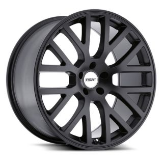 17 TSW Donington Black Rims Wheels 17x8 42 5x114 3