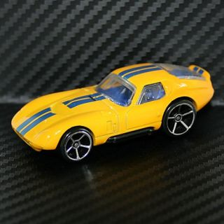 Hot Wheels Hotwheel 2009 Shelby Cobra Daytona Mystery Car Yellow
