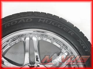 20 Driv Aftermarket Chrome Wheels Tires 5x114 3mm 275 45 20 18 22 24