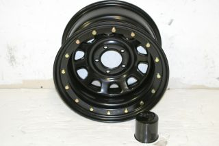 Black Rock 952 Street Lock Wheel 15x8 5x4 5 Jeep Wrangler YJ TJ