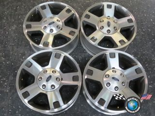 Four 04 11 Ford F150 Factory 18 Wheels Rims 3560 4L34 1007 CD