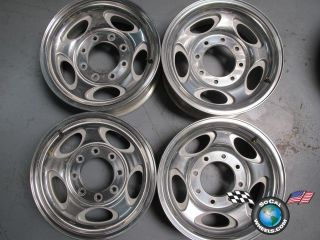 Ford Excursion F250 F350 16 Wheels OEM RIms 3408 Polished 2C34 1007 AB
