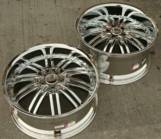 20 Chrome Rims Wheels Mercedes SL500 SL600 20 x 8 5 10 5H 20