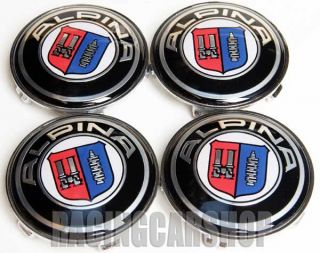 BMW Alpina Wheel Center Caps Emblem E60 E90 E92 E36 E46