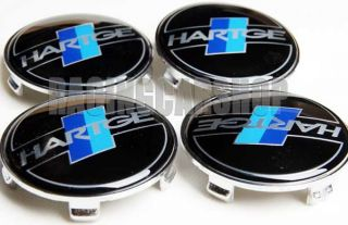 BMW Hartge Wheel Center Caps Emblem E60 E90 E92 E46 E39