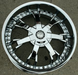 LG10 20 CHROME RIMS WHEELS MERCEDES C280 C320 C350 / 20 X 8.5 5H +35