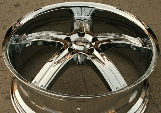 FLAWLESS 762 20 CHROME RIMS WHEELS BENZ ML320 ML350 ML500 / 20 x 8.5