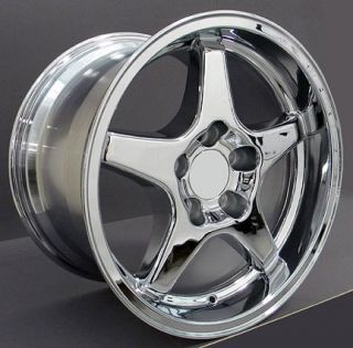 17 9 5 11 Chrome Corvette ZR1 Style Style Wheels Rims Fit Camaro