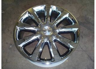 20 Infiniti QX56 Chrome Wheel RIM OEM Factory 08 09 10 QX 56 NISSAN