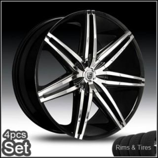 30 Lexani Johnson Wheels and Tires Escalade Chevy Ford QX56 RAM Rims