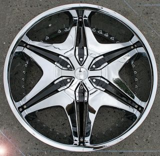 RVM 712A 20 Chrome Rims Wheels 300 300C Magnum AWD