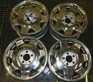 98 01 Seville SLS 16 Chrome Wheels Rims Set PX2 OE LKQ