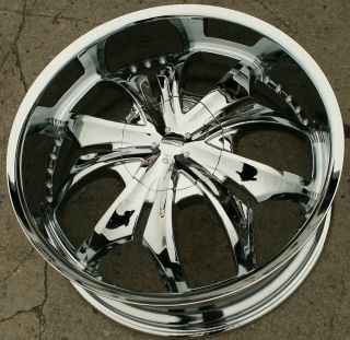 22 Chrome Rims Wheels Cadillac cts STS DTS GM 22 x 8 5 5H 40