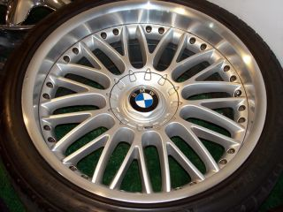 20 Silver Factory BMW Wheels Tires E38 E65 E66 740 745 750 760 101 7