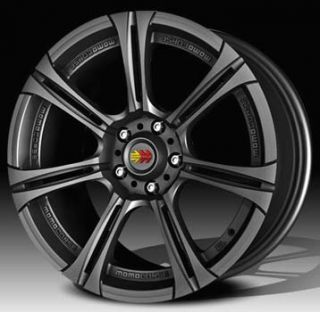 Momo Next Wheels 17x7 5x112 ET45 Black 4 Rims