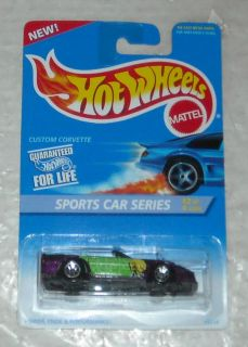 1995 Mattel Hot Wheels Sports Car Series Custom Corvette Diecast
