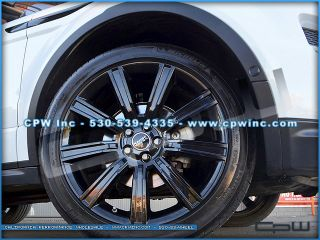 Range Rover Evoque 20 inch Wheels Rims Tires Package Gloss Black Set