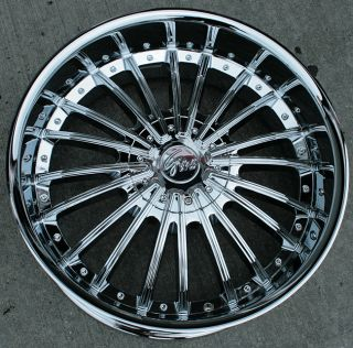 RVM 487 22 Chrome Rims Wheels Tahoe Avalanche Escalade