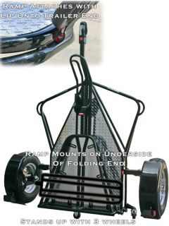 New Kendon Stand Up Folding Harley Motorcycle Trailer B BB107 B