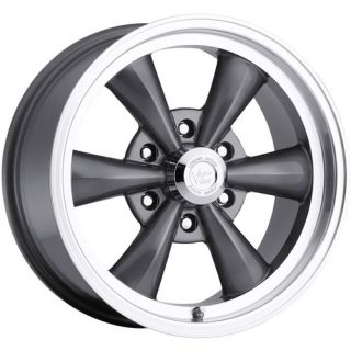 17x8 Gunmetal Wheel Vision Legend 6 141 rwd 6x5 5