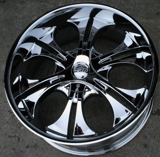 RVM WI26 22 Chrome Rims Wheels Mercury Mountaineer
