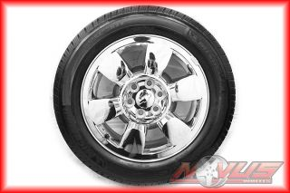 Sierra Denali Chevy Tahoe Silverado Chrome Wheels Tires 18 22