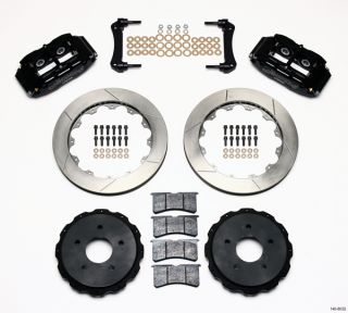 WILWOOD DISC BRAKE KIT,97 04 CORVETTE C 5 & Z06,13 ROTORS,BLACK