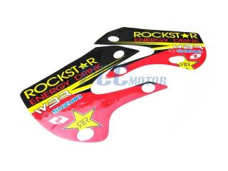 Rockstar 3M Graphic Decals Sticker Kit KLX110 110 DE27