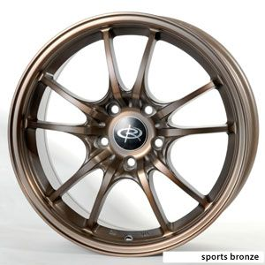 15 Rota Circuit 10 Bronze Rims Wheels Civic Integra XB