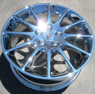 FACTORY GM CADILLAC STS CTS DTS DEVILLE ELDORADO CHROME WHEELS RIMS