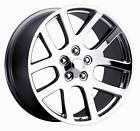 22 Rim Fits Dodge SRT Wheels Chrome 22x10 Set