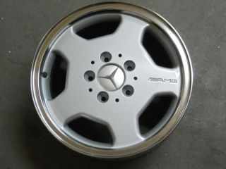 Original Mercedes AMG Alloy Wheels 5x112 7x15 W107 W123 W124 W202